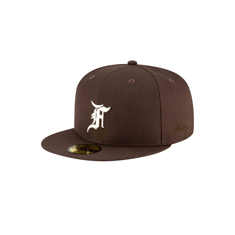 New Era x Fear of God Essential 59FIFTY Fitted - Brown - KickzStore