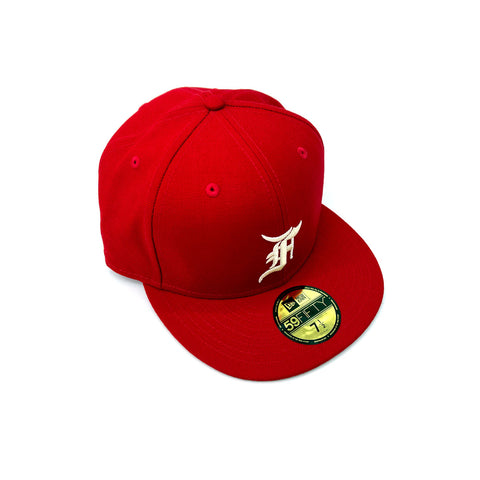 New Era x Fear of God Essential 59FIFTY Fitted - Red - KickzStore