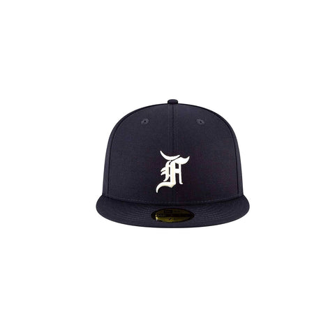 New Era x Fear of God Essential 59FIFTY Fitted - Navy - KickzStore