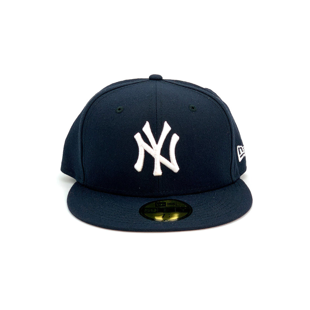 New Era 59FIFTY New York Yankee Fitted Hat Navy White