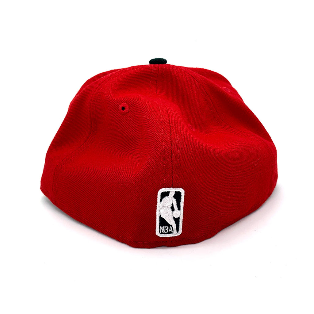 New Era 59FIFTY Chicago Bulls Fitted Hat Red Black