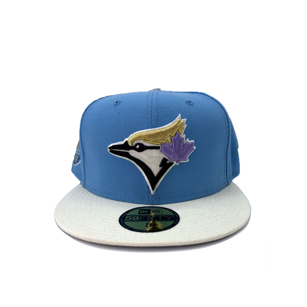 New Era 9FIFTY Toronto Blue Jays Sky Chrome 30 Light Blue Fitted Hat