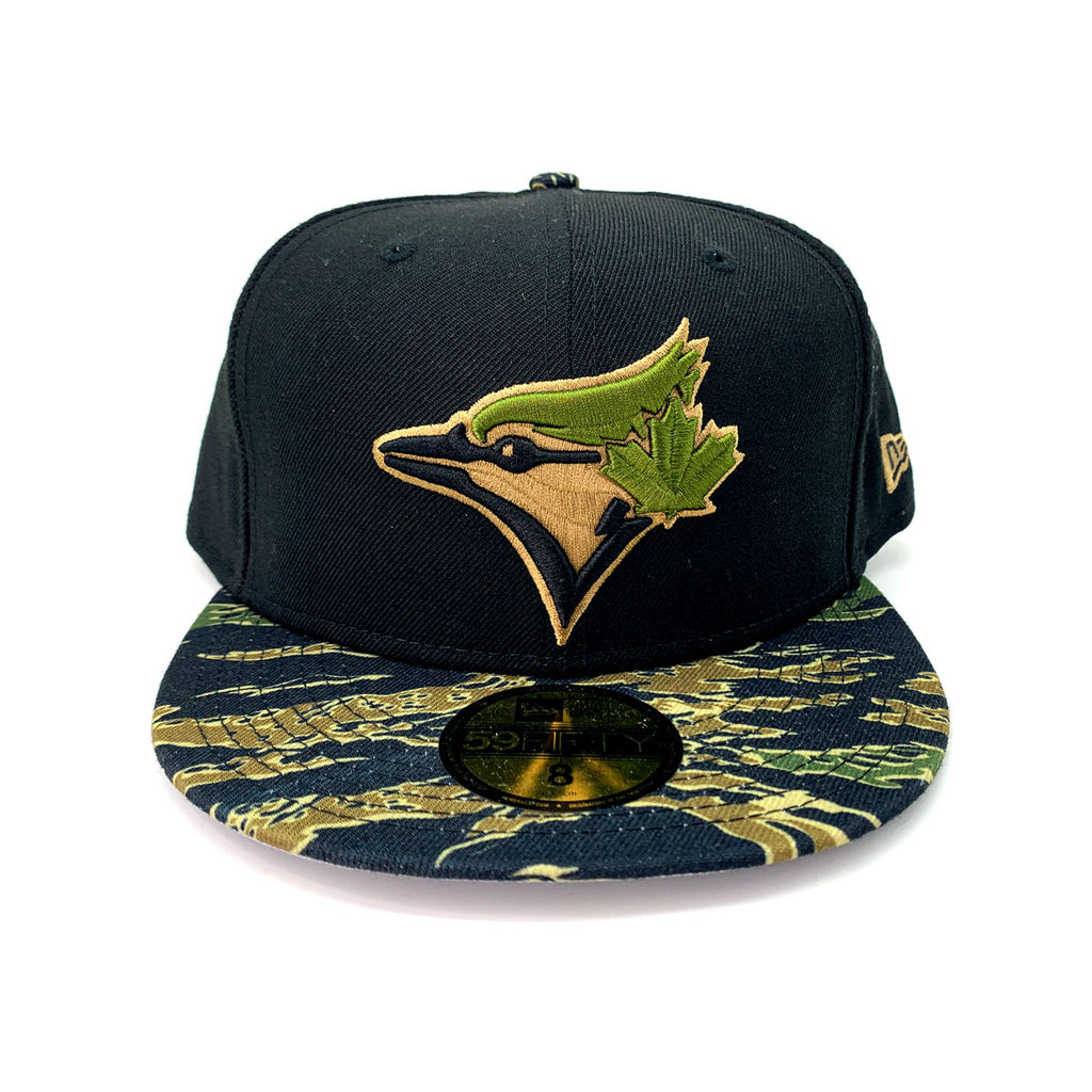 New Era 9FIFTY Toronto Blue Jays Black Camo Pan Fitted Hat