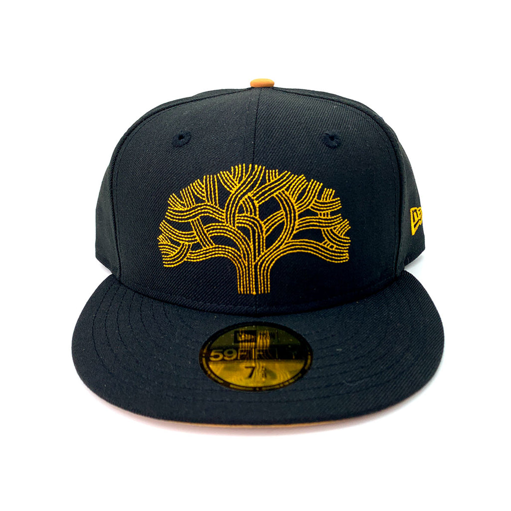 New Era 59FIFTY Black Golwar Fitted Hat - KickzStore