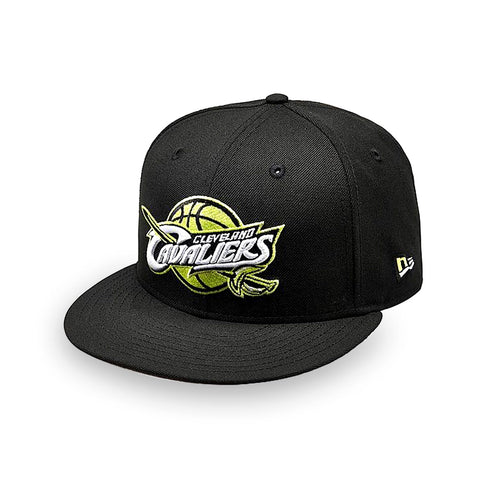 New Era Cleveland Cavaliers NBA Cyber Green 9FIFTY Snapback Hat