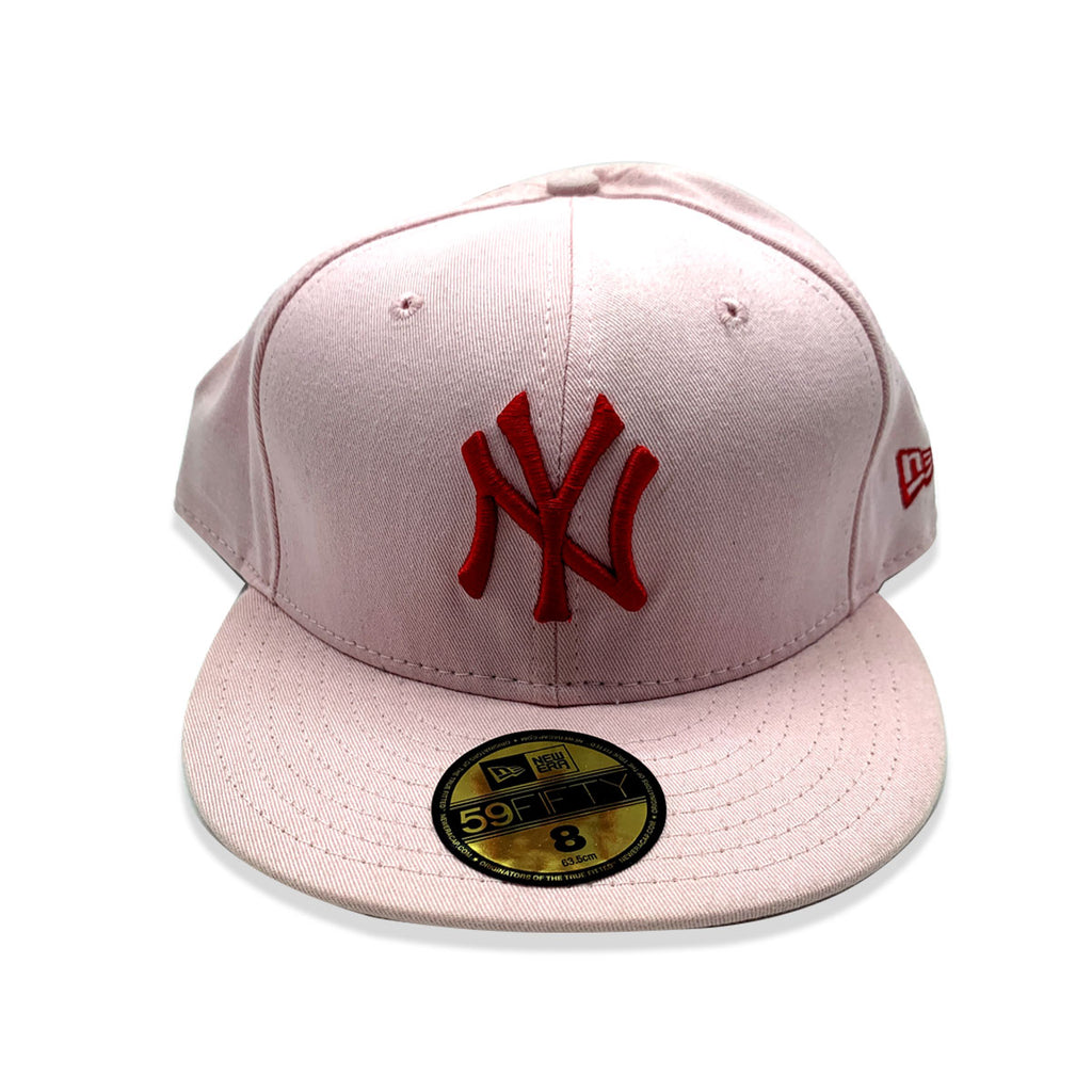 New Era 59FIFTY New York Yankee Pink Fitted Hat - KickzStore
