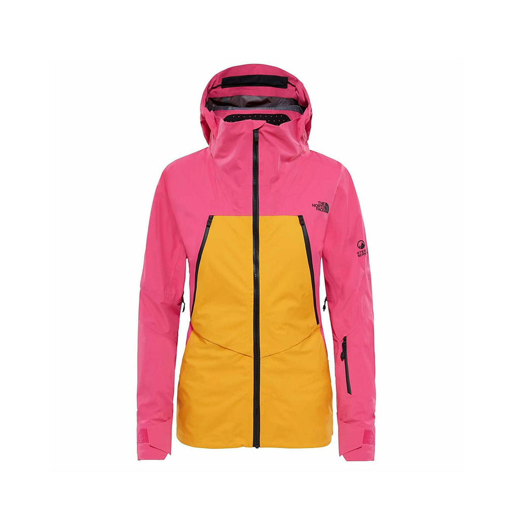 The North Face Women's Purist Triclimate Steep Series Jacket Zinnia Orange Pink