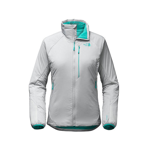 The North Face Women's Ventrix Hike Jacket - High Rise Grey Vistula Blue