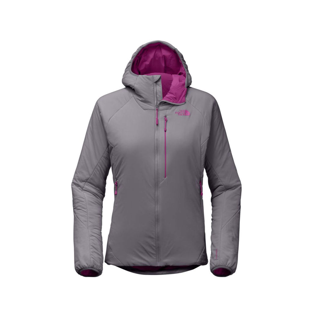 The North Face Ventrix Hoodie Women Small Grey NWT Purple Aster Slim Fit Jacket