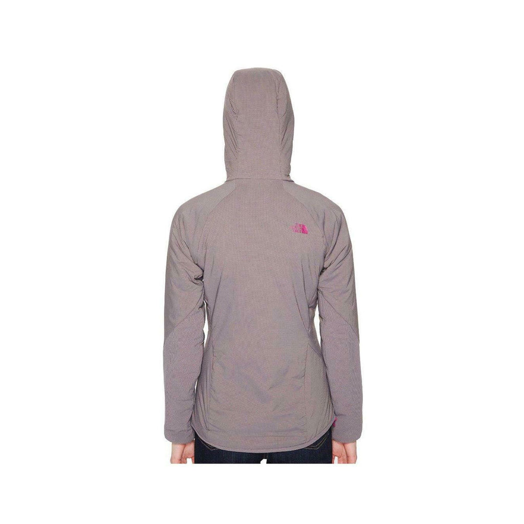The North Face Ventrix Hoodie Women Small Grey NWT Purple Aster Slim Fit Jacket - KickzStore