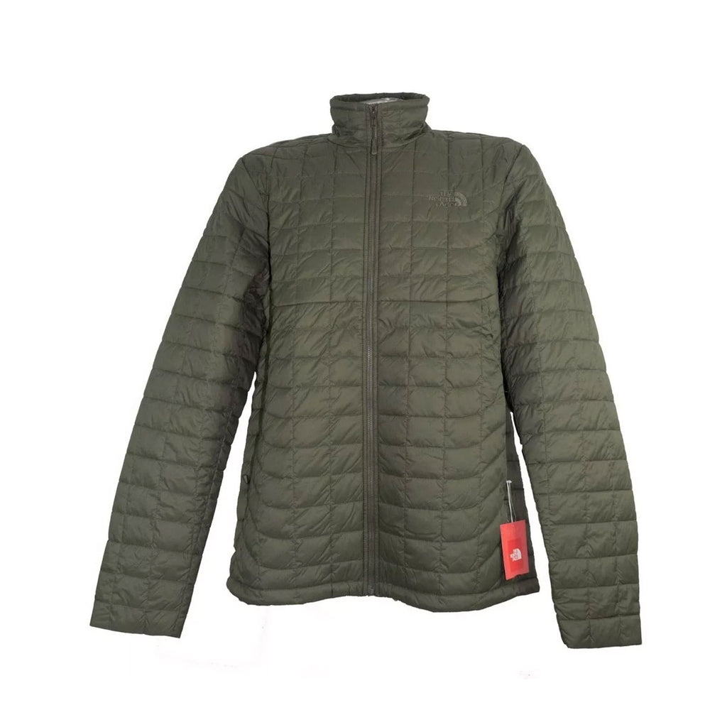 The North Face Men's Thermoball Full Zip Down Jacket  New Taupe Green Matte