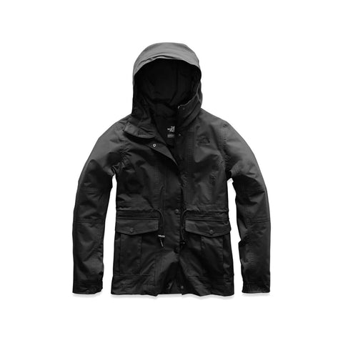 The North Face Women's Zoomie Hooded Jacket TNF Black