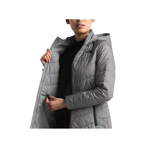 The North Face Women's Tamburello Hooded Parka TNF Medium Grey Heather