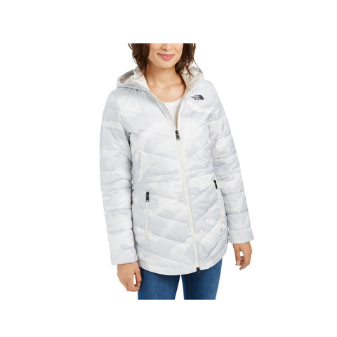 The North Face Women's Tamburello Hooded Parka Snow Camo Urban Explorer