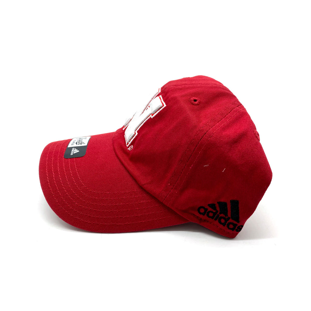 Adidas Youth Nebraska Cornhuskers Red Strapback Cap