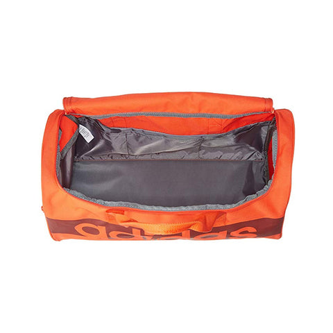 Adidas Unisex Originals Linear Performance Sport Teambag Orange Duffle Gym Bag