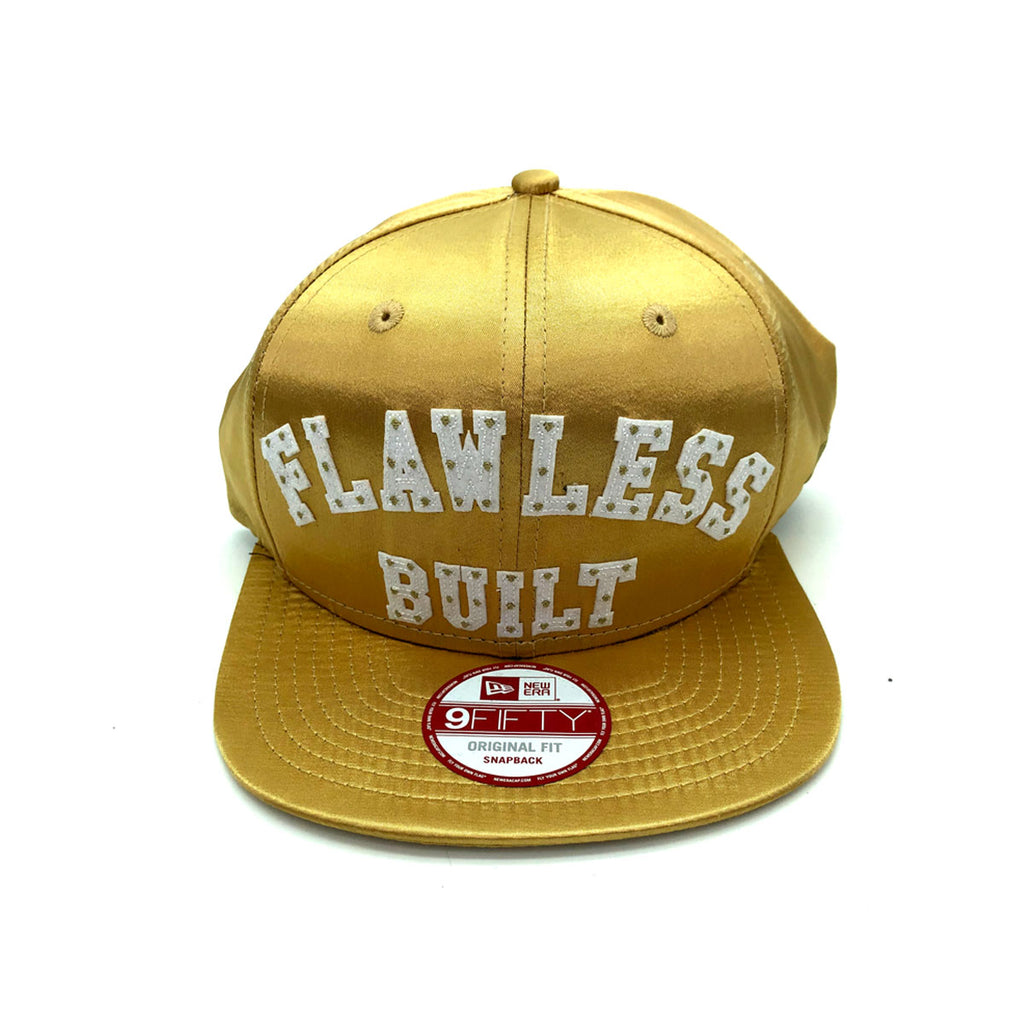 New Era x Secret Society FLAWLESS Built 9FIFTY Snapback Satin Gold