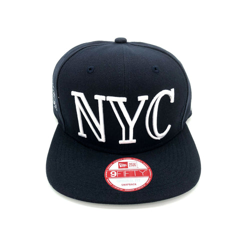 New Era x Secret Society NYC Navy 9FIFTY Snapback Hat - KickzStore