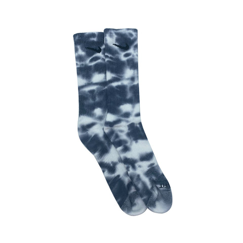 Nike Dri-Fit Tie Dye Gray White Socks - KickzStore