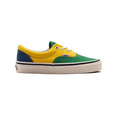 Vans Men's Anaheim Factory Era 95 DX Green Yellow Blue - KickzStore
