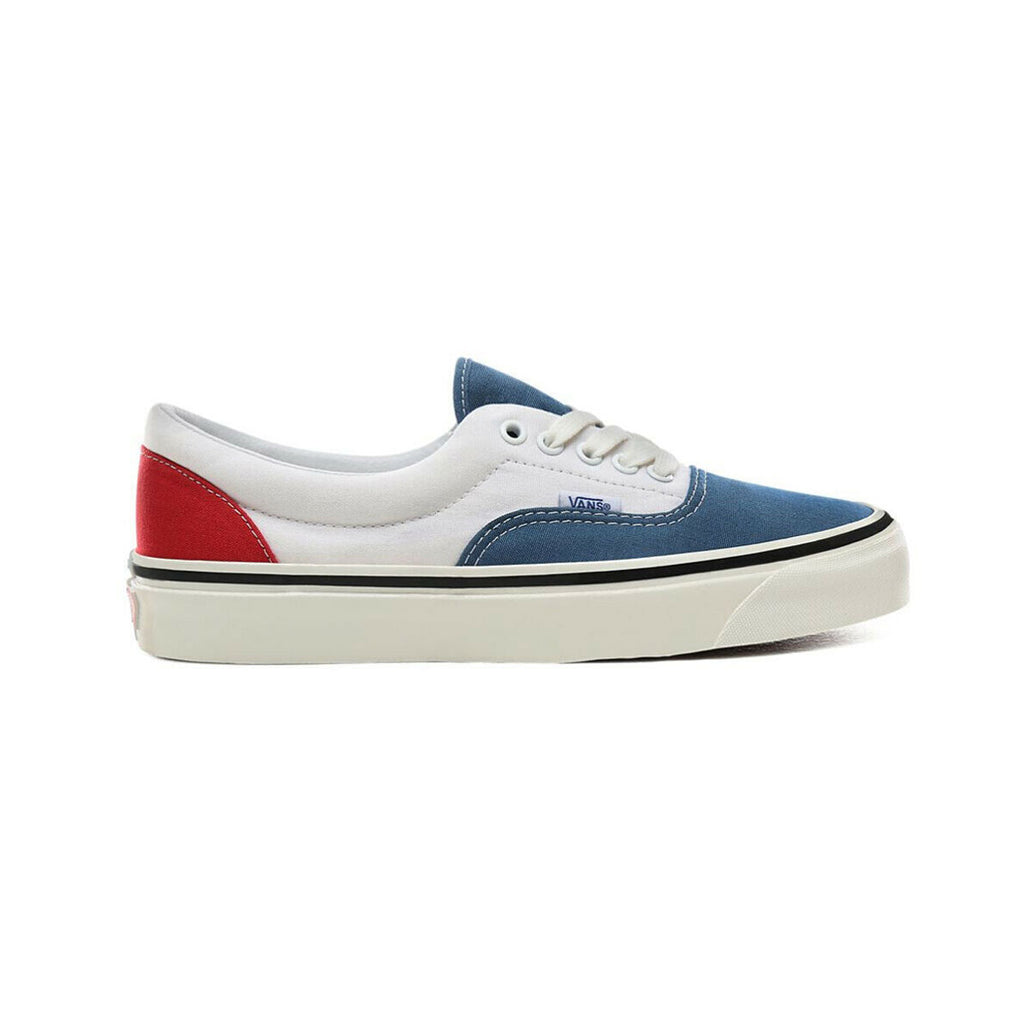 Vans Men's Anaheim Factory Era 95 DX White Red Navy - KickzStore