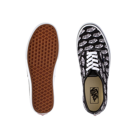 Vans Men's Authentic Blue Boards Black Blue - KickzStore
