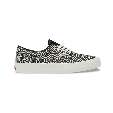 Vans Men's UA Era SF Athletic Shoes Black White - KickzStore