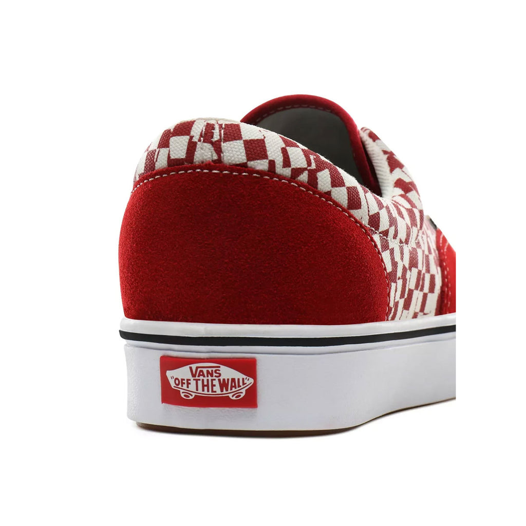 Vans Men's Comfycush Era 'Tear Check' Red White
