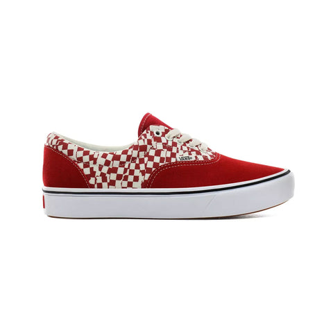 Vans Men's Comfycush Era 'Tear Check' Red White - KickzStore