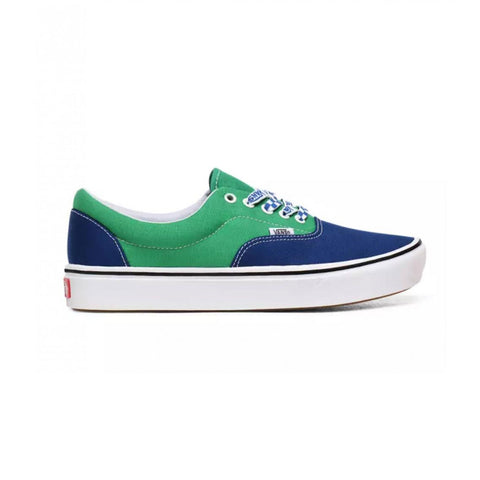 Vans Men's Comfycush Era Shoes Blue Green - KickzStore