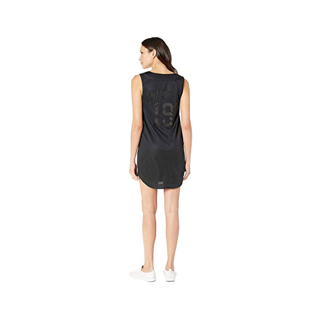 Champion Women's Life Imperial Sleeveless Baseball Jersey Dress Black Black