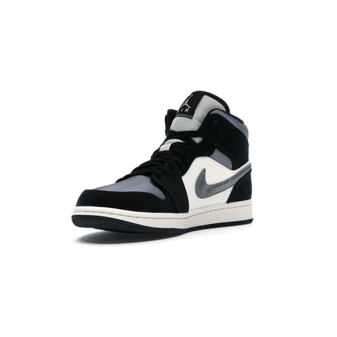 Air Jordan 1 Men's Mid Satin Grey Toe