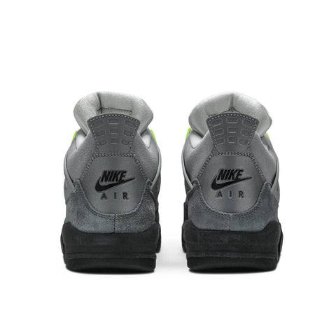"Nike Men's Air Jordan 4 SE ""Neon"" Cool Grey"