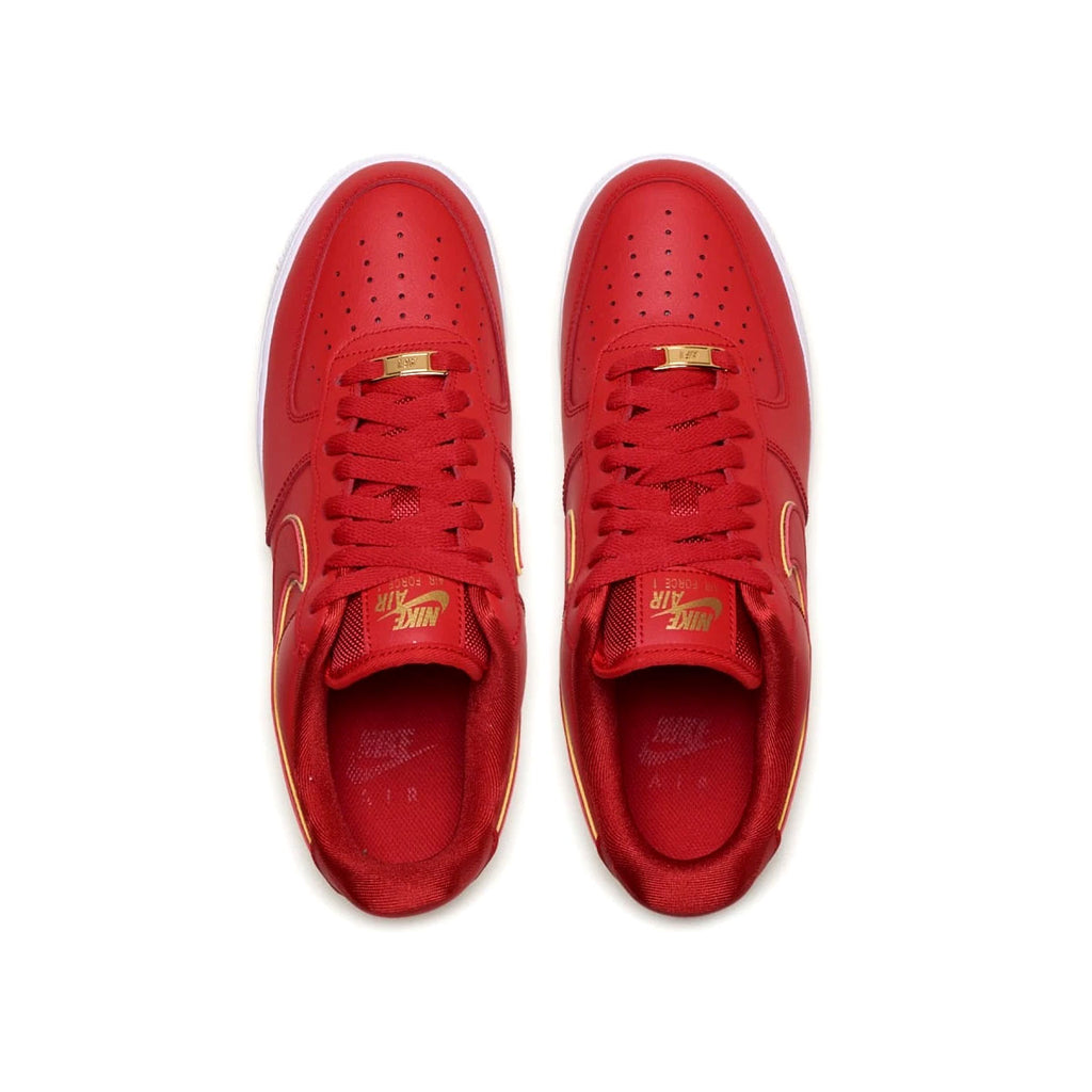 Nike Women's Air Force 1 '07 Low Icon Clash Red Gold