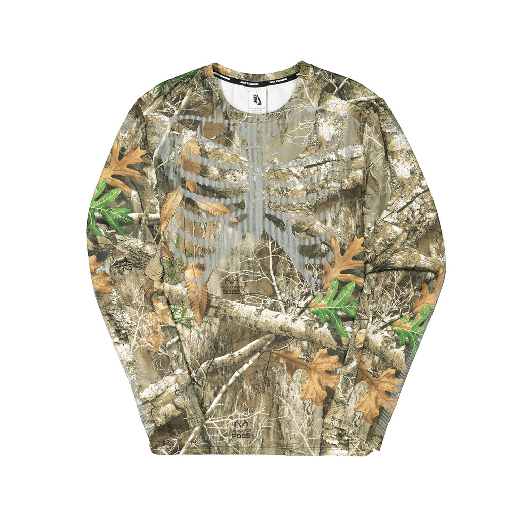 NikeLab NRG Skeleton Camo 3M Realtree Dri-Fit Running Shirt
