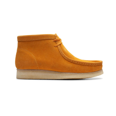 "Clarks Originals Men's Wallabee Boot ""Burnt Yellow Suede"""