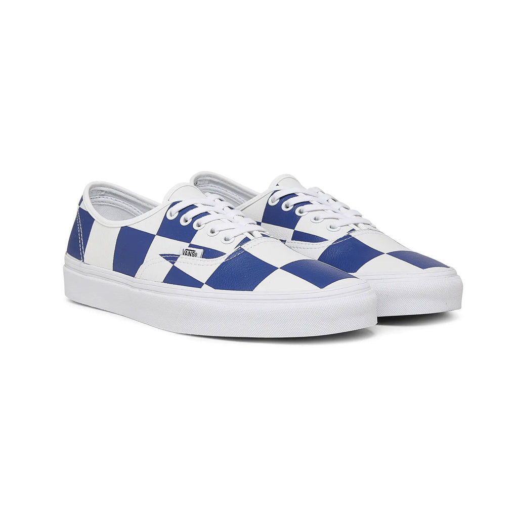 Vans Men's Authentic Leather Checkered - KickzStore
