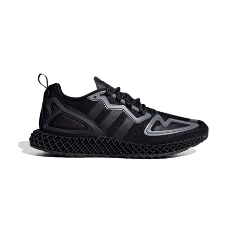 Adidas Men's ZX 2K 4D Core Black Reflective - KickzStore