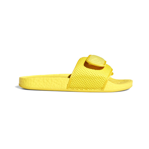 Adidas x Pharrell Williams Boost Slides Bold Gold - KickzStore