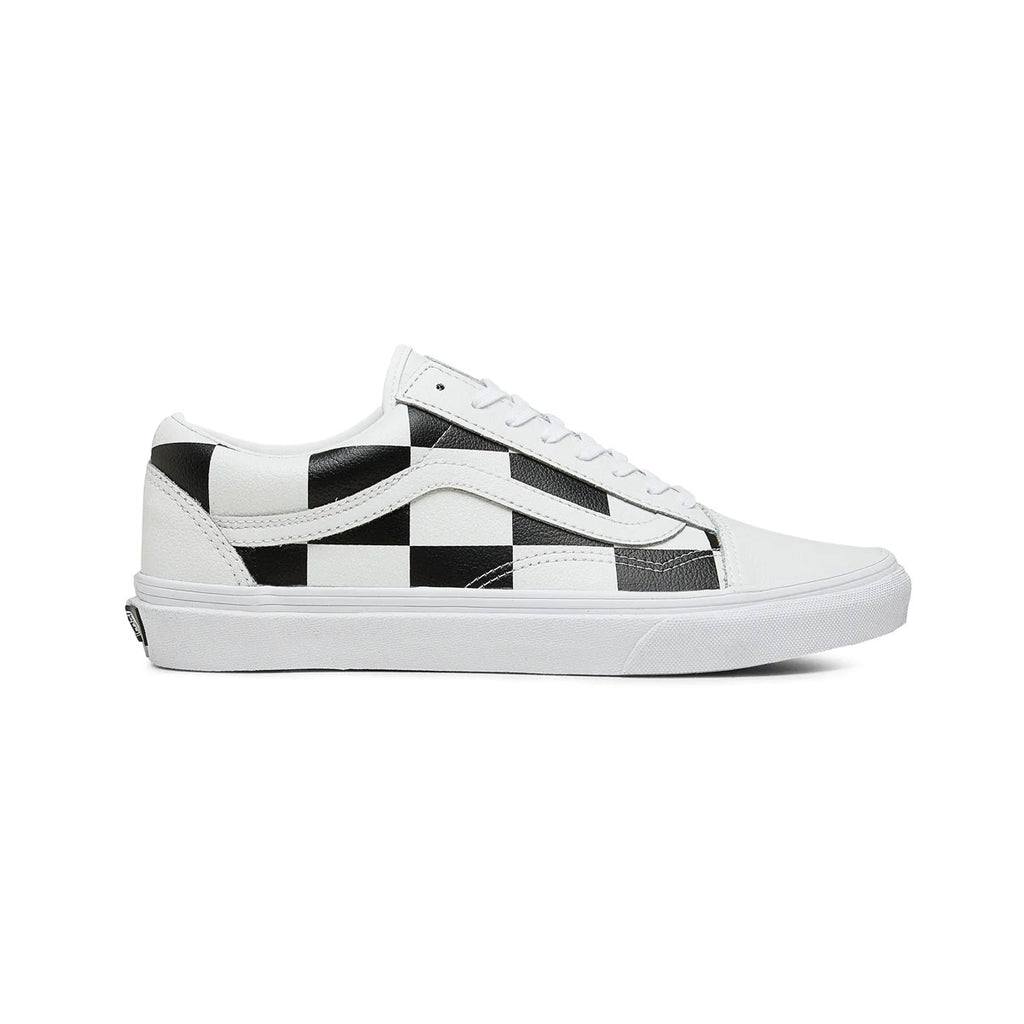Vans Men's UA Old Skool True White Black - KickzStore