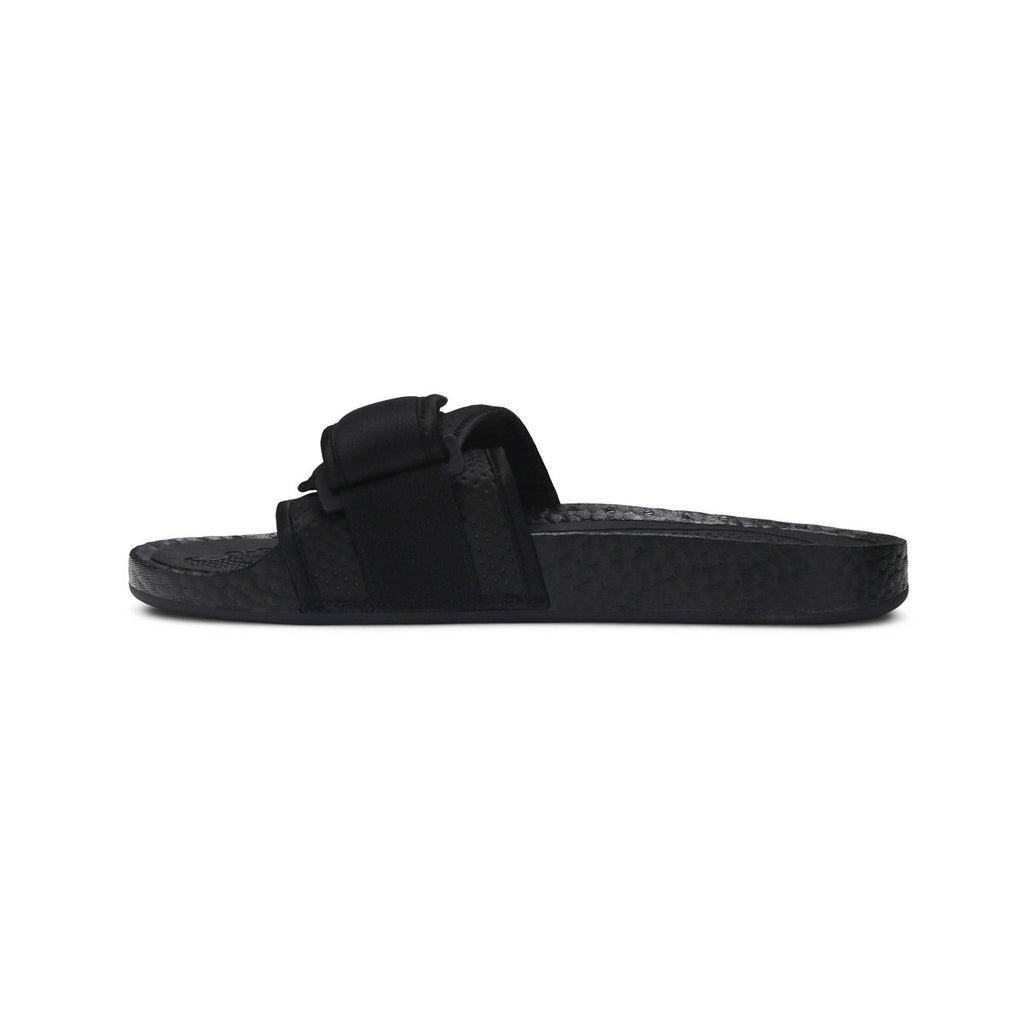 Adidas x Pharrell Williams Boost Slides Core Black - KickzStore