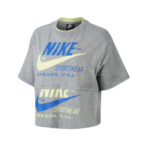 Nike Women's NSW Icon Clash Cropped Tee