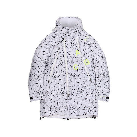 NikeLab ACG Down Filled Parka White Black