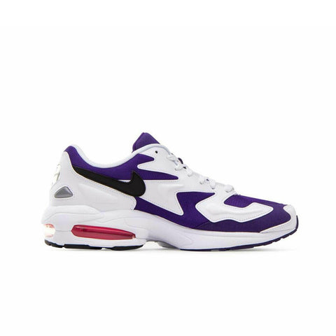 Nike Men's Air Max 2 Light White Purple - KickzStore