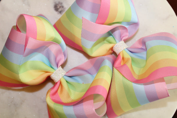Pastel Rainbow Stripes