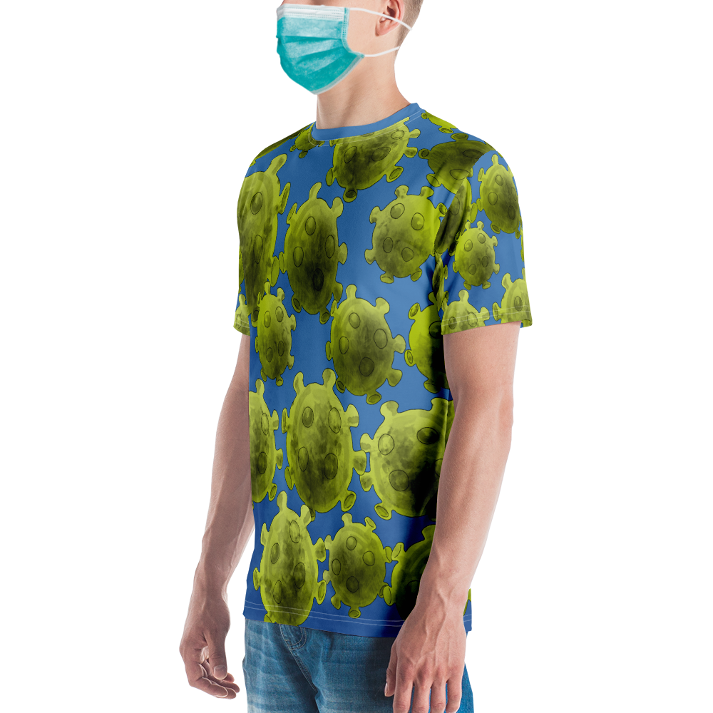 Covid-19 All-over print T-shirt