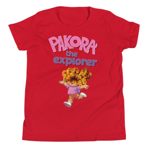 Pakora The Explorer Kids Tee - punmug - more than just mugs