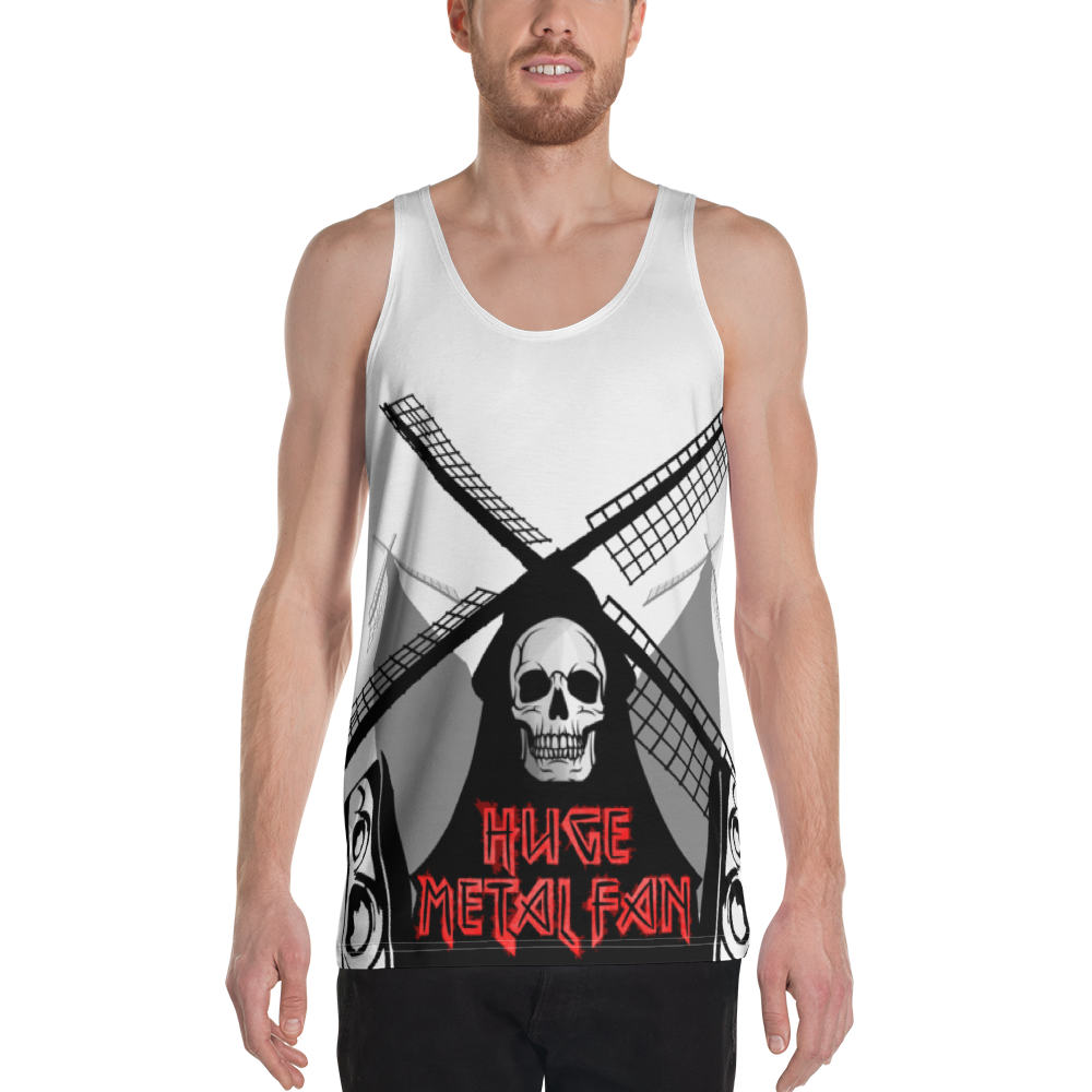 Huge Metal Fan Tank Top - punmug - more than just mugs