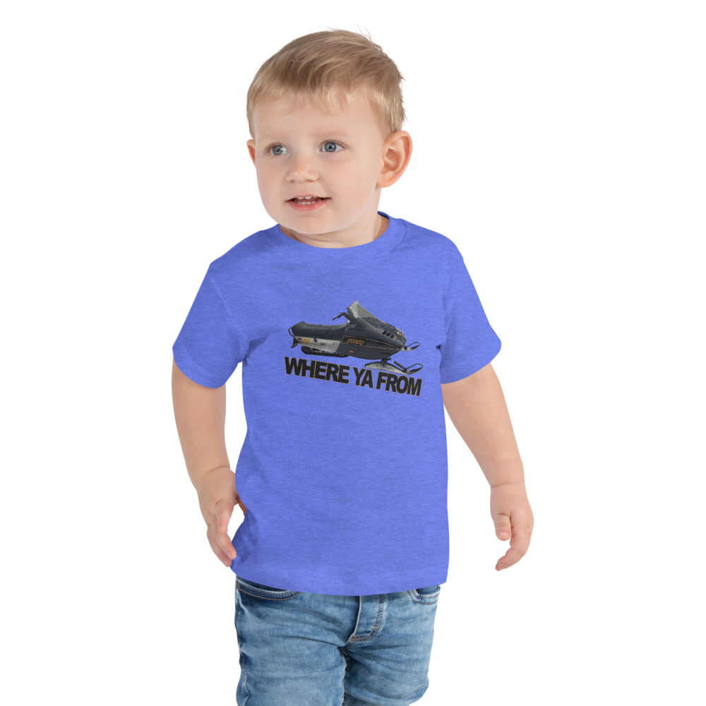 Where Ya From Toddler Short Sleeve Tee