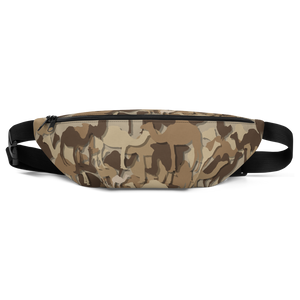 Camel Flage Fanny Pack - punmug - more than just mugs